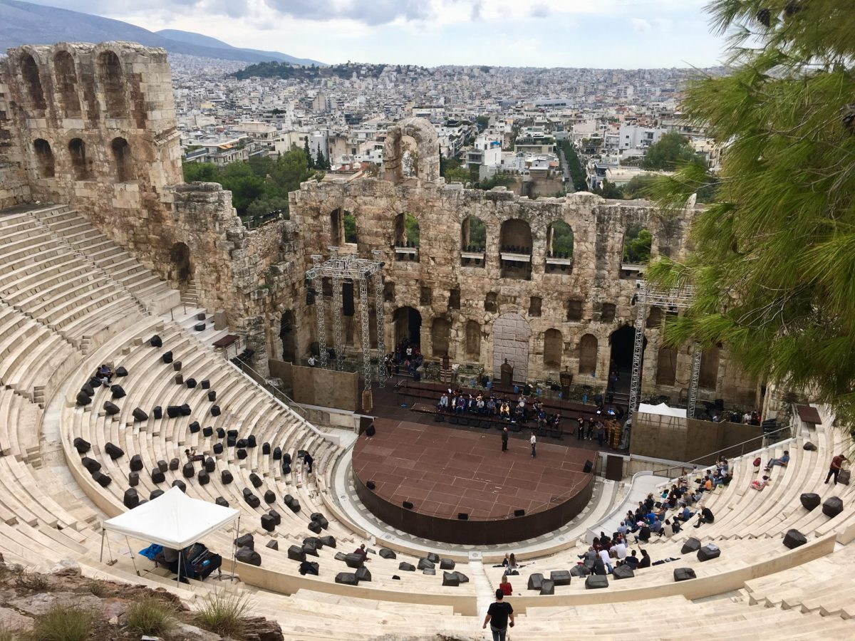 Blick ins Dyonisos-Theater